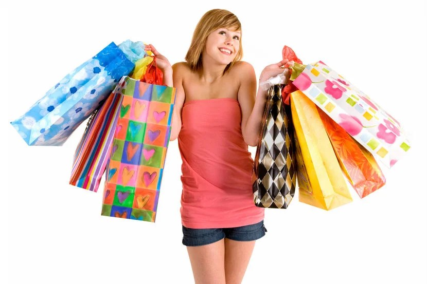 """I was a teenager with her daddy's credit card after getting $400 in expenses approved. Image courtesy of <a href=""""http://www.shutterstock.com/pic-9330658.html"""">Shutterstock</a>."""