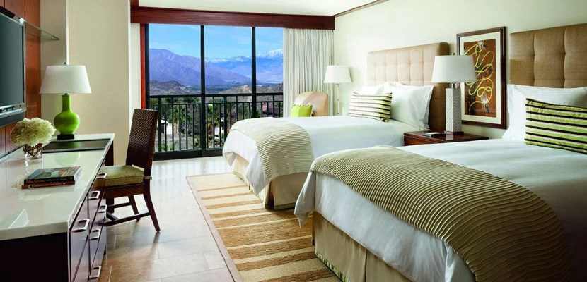 Treat yourself to a relaxing weekend in Southern California at the Ritz-Carlton, Rancho Mirage. Image courtesy of the hotel.
