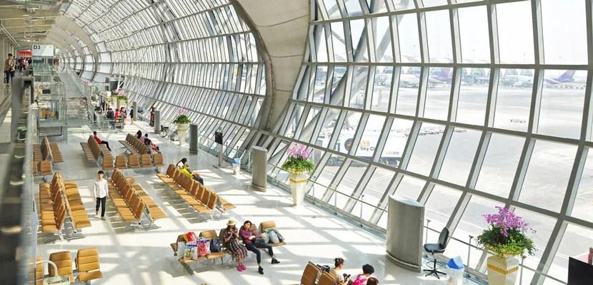 BKK airport in Thailand