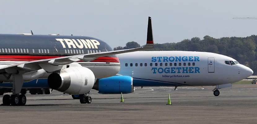 trump clinton plane featured