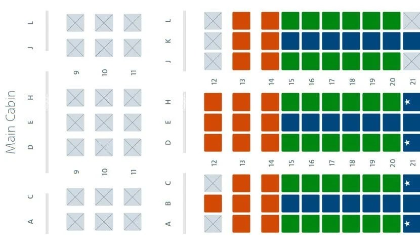 For some reason, I doubt that all of the premium economy seats have been taken...