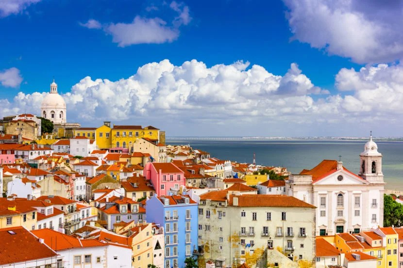 Lisbon, Portugal cityscape in the Alfama District. Image courtesy of Getty Images.