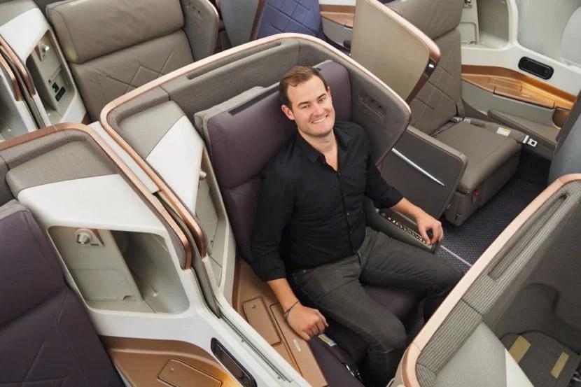 Singapore A350 Tour Business Class Brian