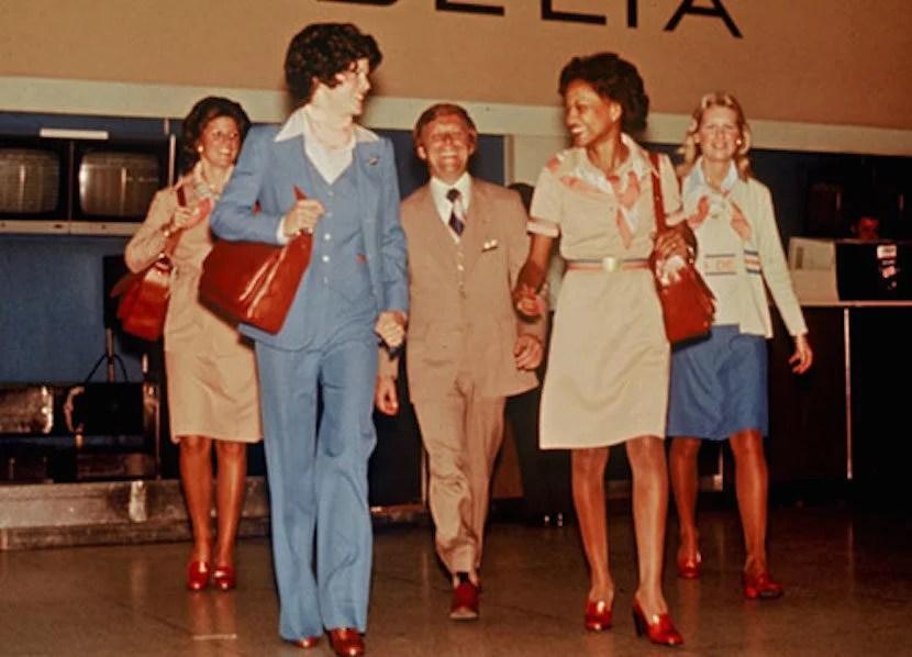 It's so '70s. Image courtesy of Delta Flight Museum.