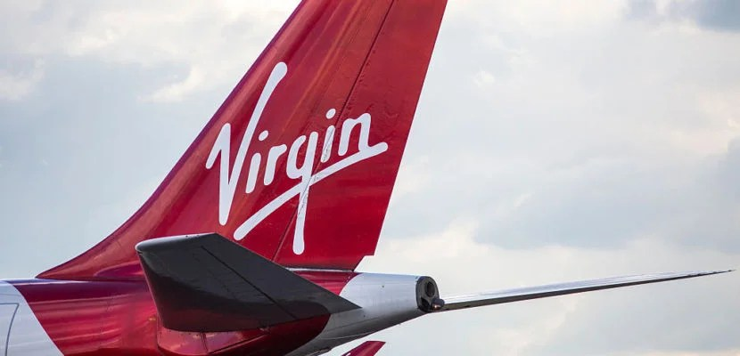 LONDON, ENGLAND - OCTOBER 11: A Virgin Airways aircraft at Heathrow Airport on October 11, 2016 in London, England. The UK government has said it will announce a decision on airport expansion soon. Proposals include either a third runway at Heathrow, an extension of a runway at the airport or a new runway at Gatwick Airport. (Photo by Jack Taylor/Getty Images)