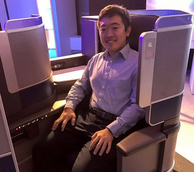 """I'm only 5' 4"""" - the new seat really does feel cramped compared to American and Delta's offerings."""