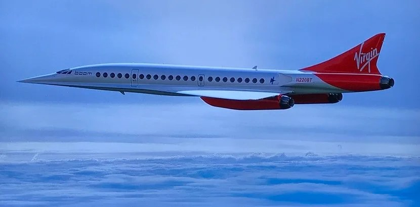 Richard Branson's Virgin Group has already signed up for the first 10 Boom airliners.