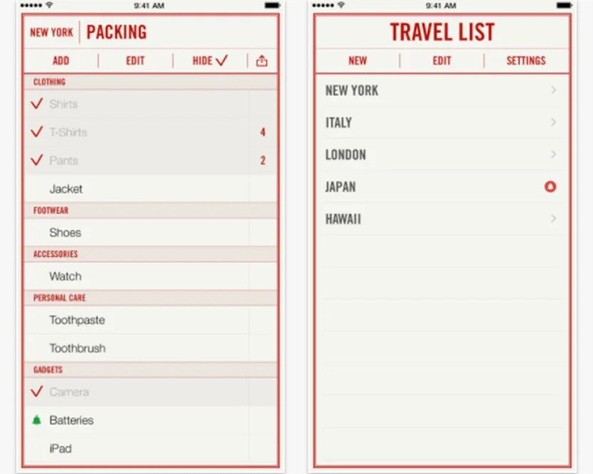 5 Useful Apps That Will Help You Perfectly Pack Your Suitcase