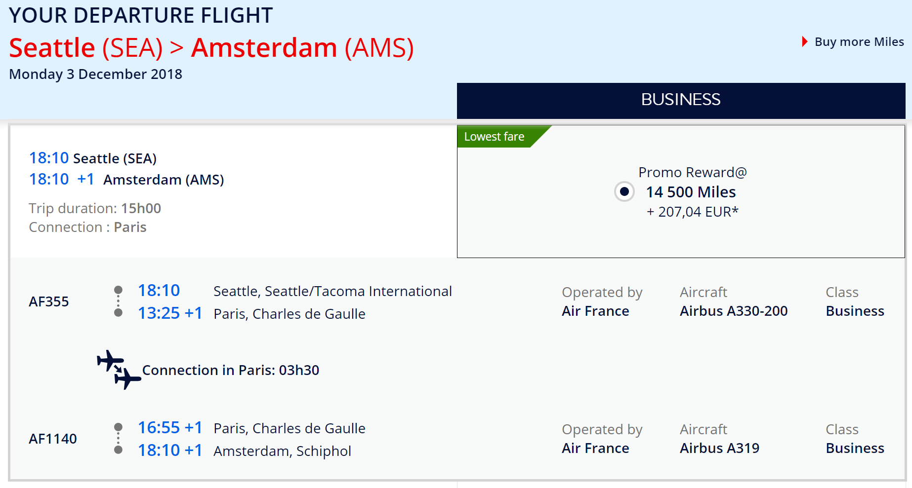 Miles And More Business Deal Business Class Flights To Europe From 13 500 Miles