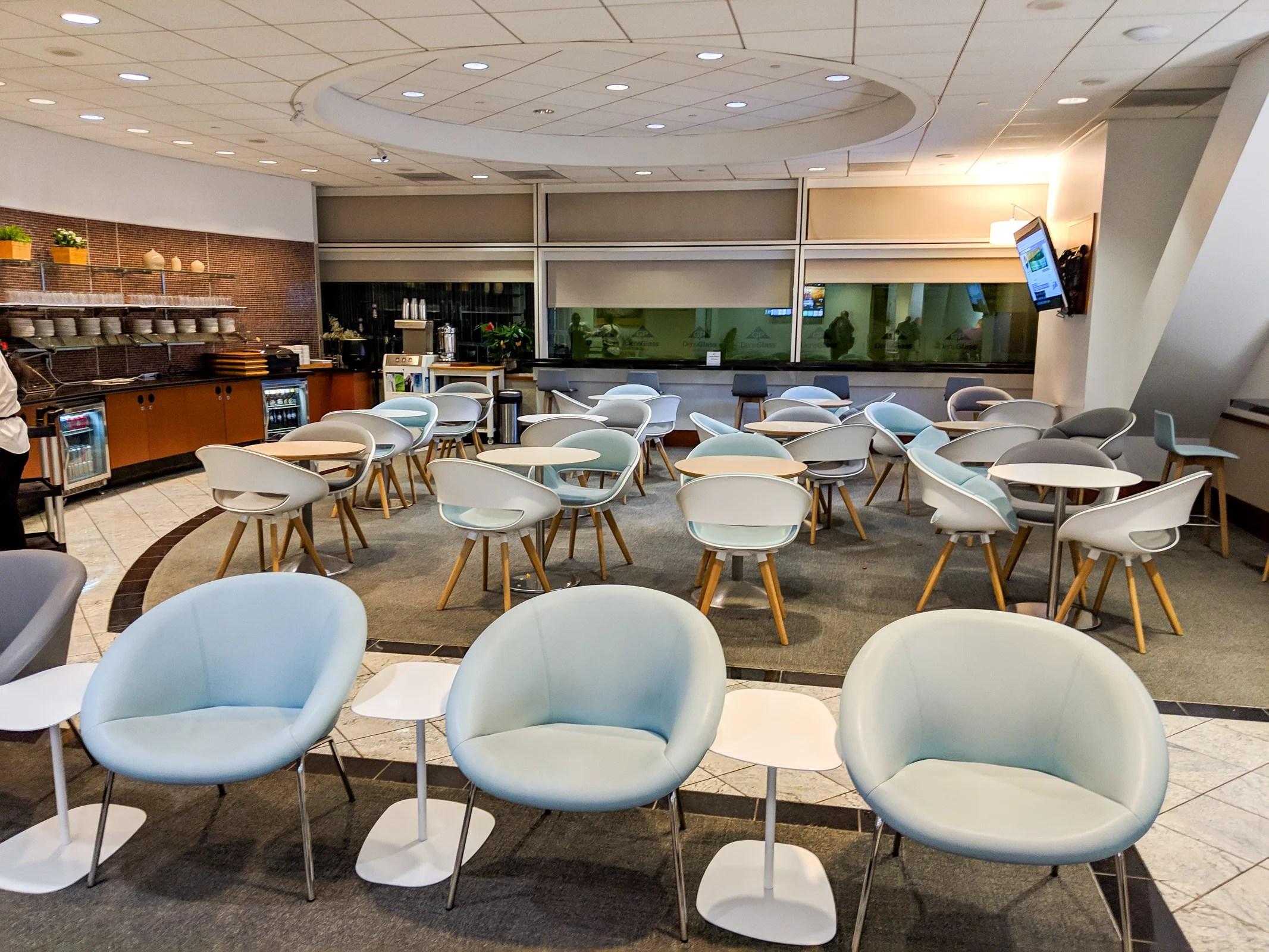 Dining Lounge Best Priority Pass Lounges Restaurants At Sfo Airport The