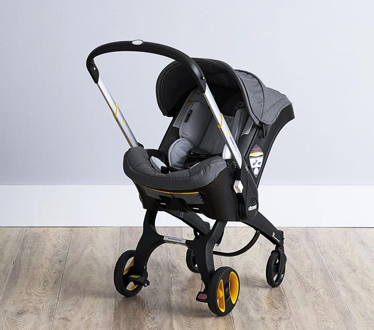 Baby Pram And Car Seat Combo Meet The Car Seat That Converts Into A Stroller In Seconds