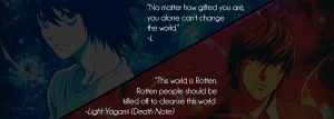 Death Note & How Close Is My View To Kira's, The Prota-Antagonist?
