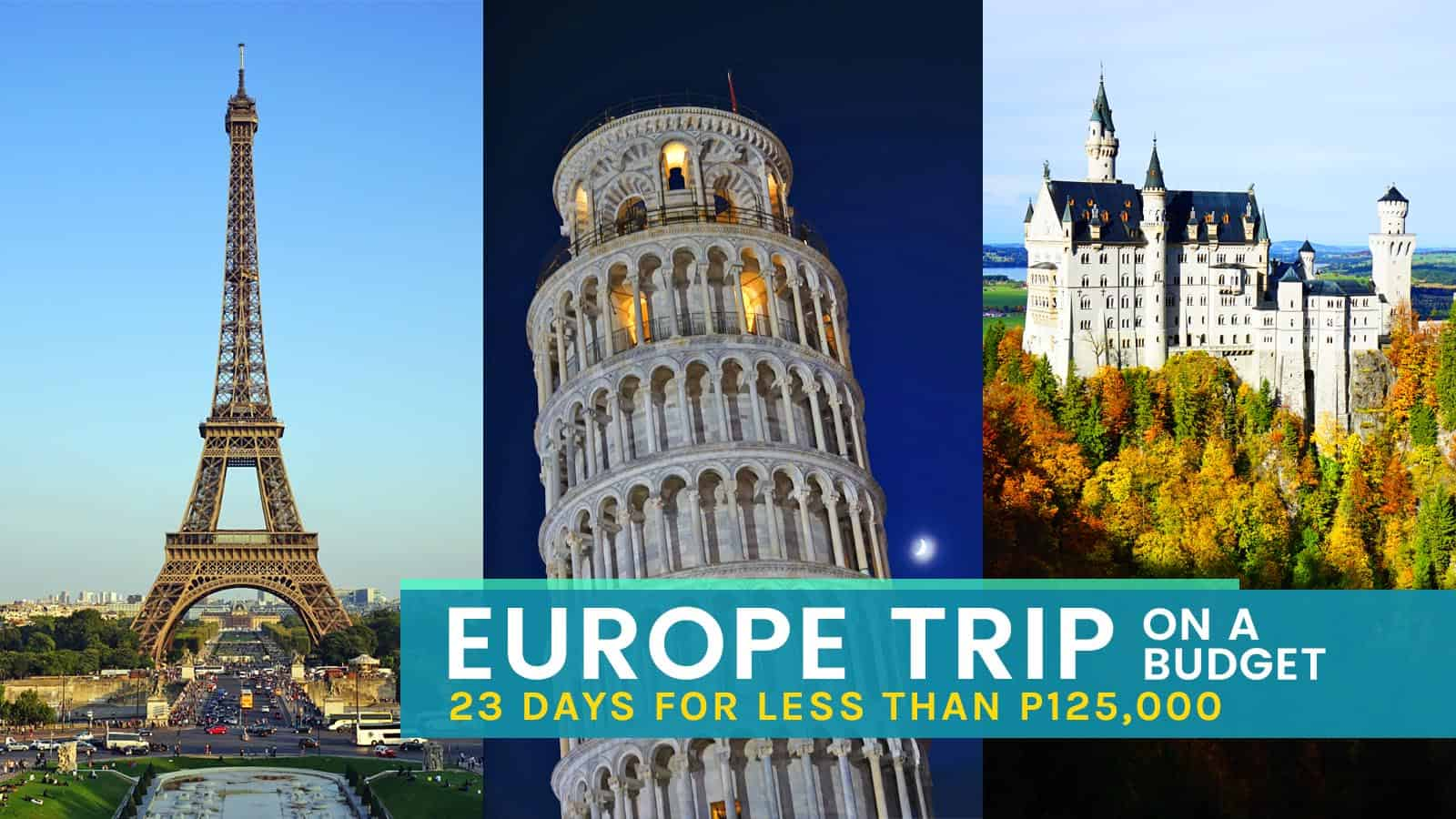 Tours Trip Europe On A Budget How To Plan Your Dream Euro Tour The Poor