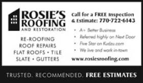 Rosie's Roofing