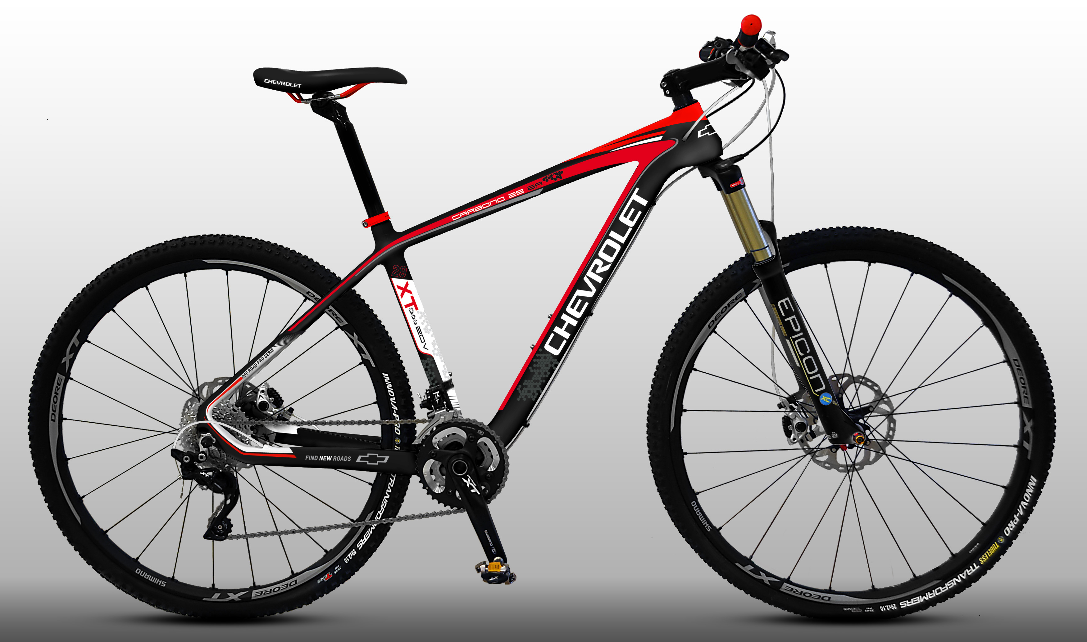 Cuadro De Carbono Mtb 29 Chevrolet Bikes Presente En Expo Bici 2015 The Post Arg