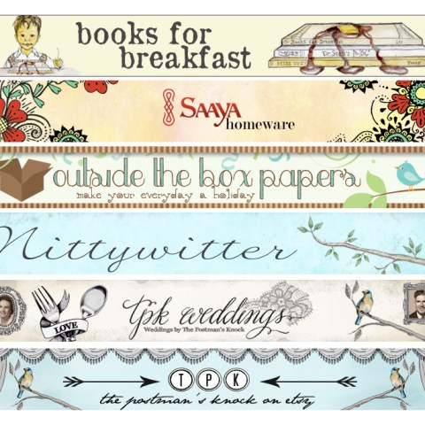 Custom Etsy Banner Design | The Postman's Knock