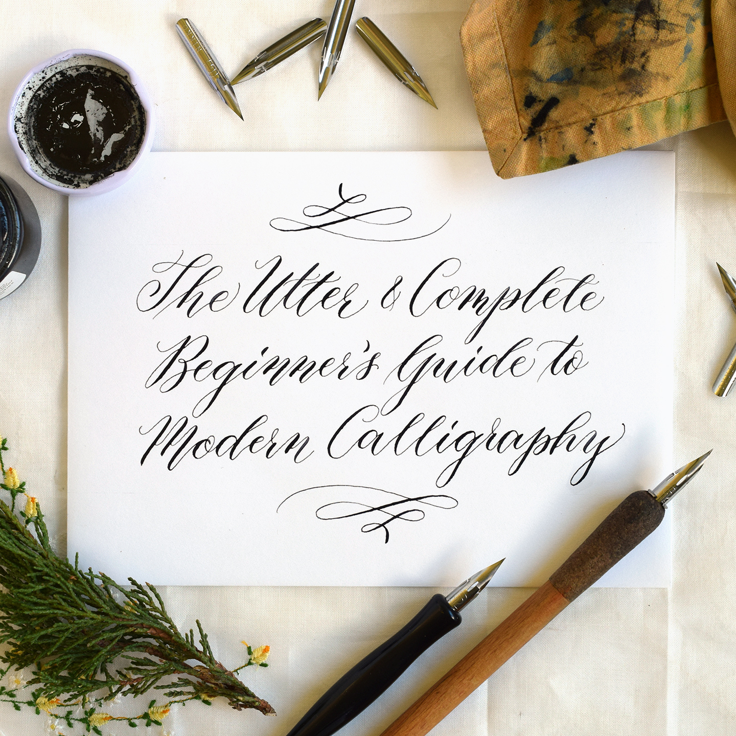 Wedding Calligraphy A Guide To Beautiful Hand Lettering The Beginner S Guide To Modern Calligraphy The Postman S Knock