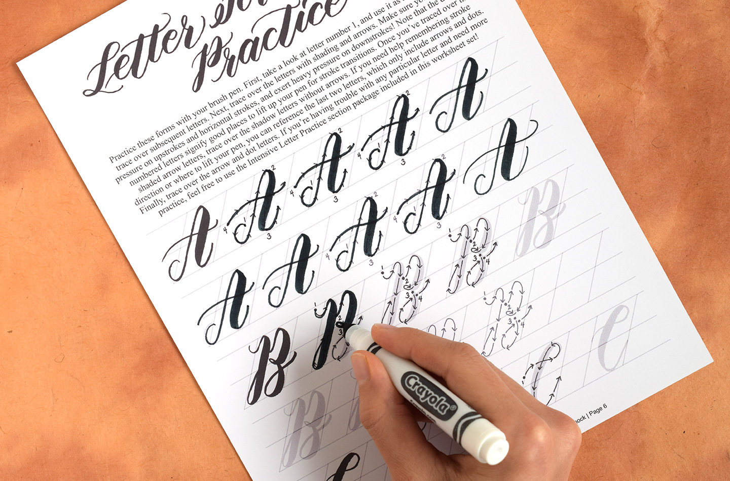 Fake Calligraphy M How To Write Crayola Calligraphy The Postman S Knock