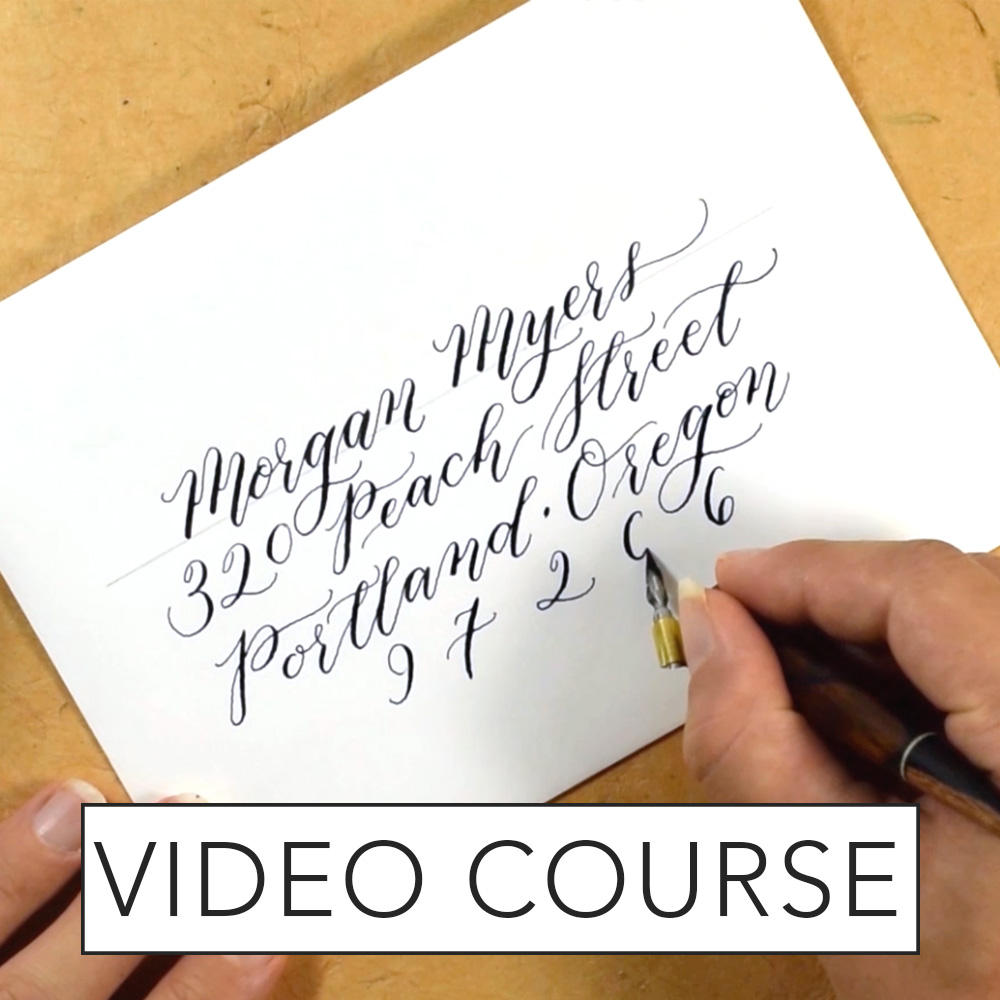 Calligraphy Online Kaitlin Style Calligraphy Video Course