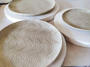Gina Feddersen Lace Plates