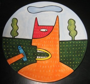 Kim Murton Plate