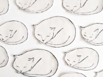 Leah Goren Cat Dishes