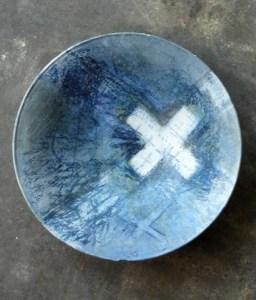 Brenda Holzke Blue Bowl