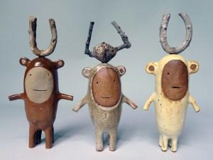 Godeleine de Rosamel Three Creatures