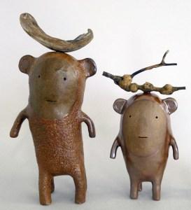 Godeleine de Rosamel Two Creatures