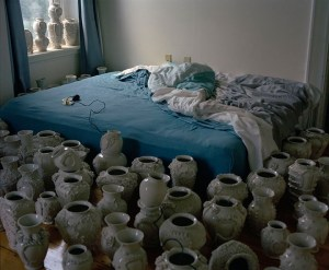 Robert Chamberlin Pots and Bed