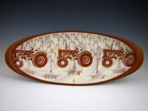 Kip O'Krongly Tractor Platter