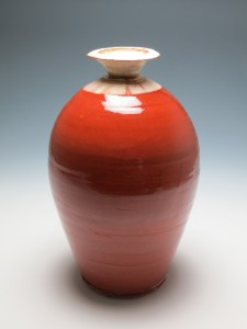 Jack Welbourne Bottle, earthenware,35cm x 25cm, 2014