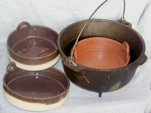 Penni Stoddart cooking pots