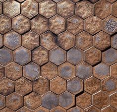 Guy Mitchell Hexagon Pattern