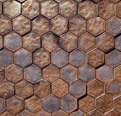 Guy Mitchell Hexagon Pattern
