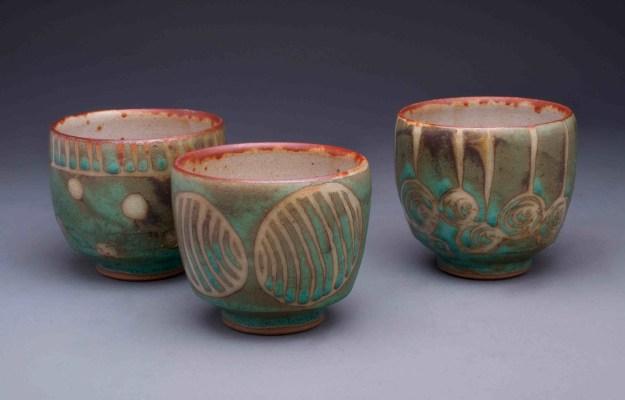 Julie Covington Tea Bowls