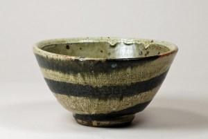 Guellemo Cuellar Black-Striped Bowl