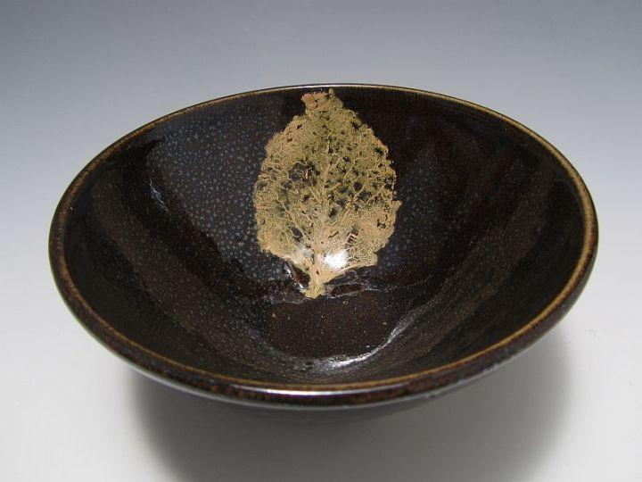 John Britt Leaf Bowl