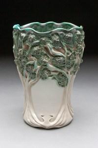 Lora Rust Tree Vase