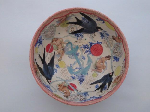 Mariko Paterson Nautical Bowl- Interior Detail