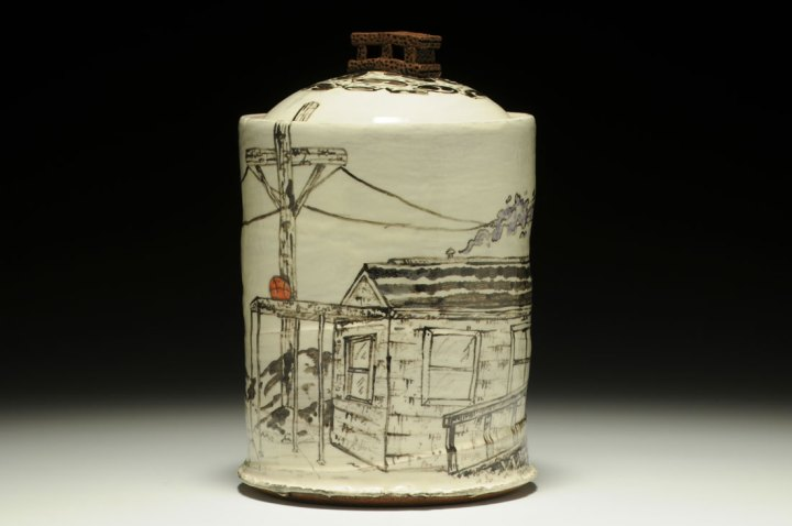 Richard Peterson Covered Jar