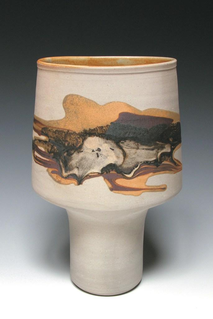 Robin Hopper mallet vase
