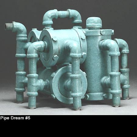 Ceramic Showcase 2016 Larry Nelson Pipe Dreams Tea Pot