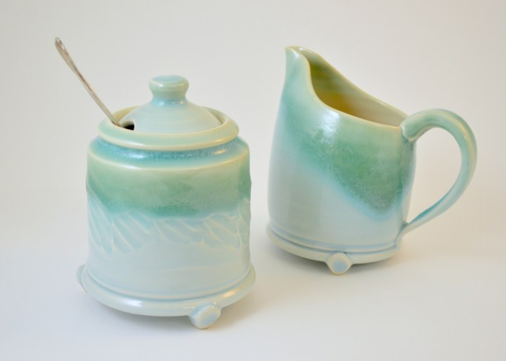Patrick Gibson Sugar and Creamer Set