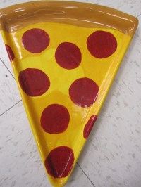 KIDS NIGHT OUT-PIZZA PLATES CERAMIC (click here for ...
