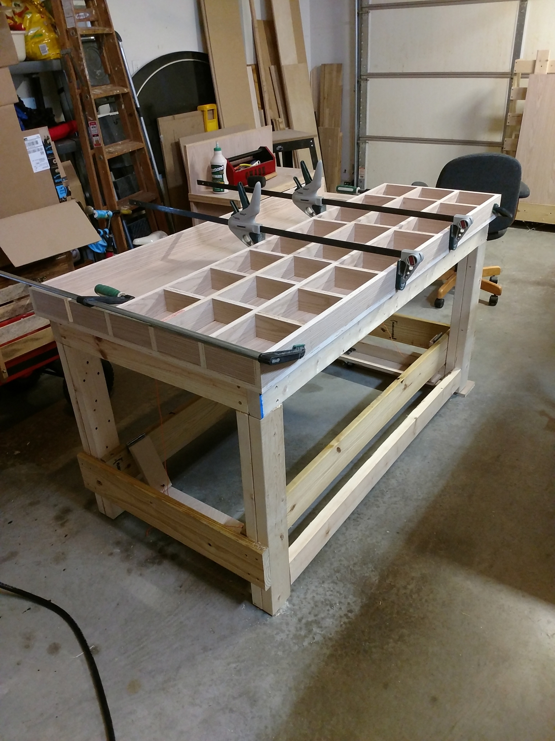 Torsion Box Workbench For My Woodshop What I Did With Pictures