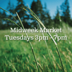Can't shop on Saturday? We're starting a Midweek Market for you!