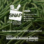 The Prairie Farmers' Market to Accept SNAP!