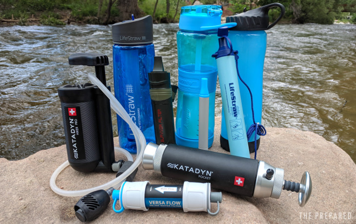 Best Portable Survival Water Filters for Preppers - The Prepared