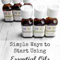 Essential Oils in the Home: Getting Started.